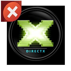 Частая ошибка H810 DirectX исправление