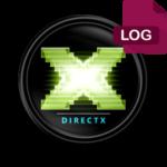 DirectX log — как исправить