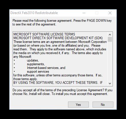 Извлечение файлов DirectX Feb2010