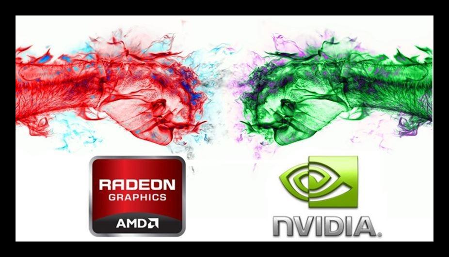 Картинка AMD и Nvidia