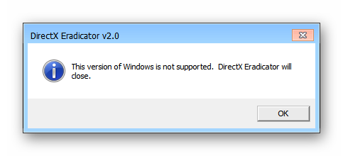 directx eradicator windows 7