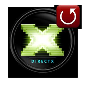 Откат как откатить DirectX