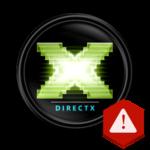 Устранение ошибки DirectX device creation error